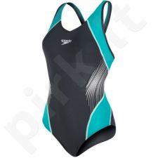 Maudymosi kostiumėlis Speedo Fit Splice Muscleback W 8-10379B072