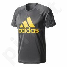 Marškinėliai treniruotėms adidas Design To Move Tee Logo M CE0309