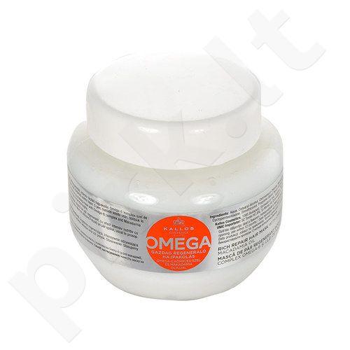 Kallos Omega plaukų kaukė, kosmetika moterims, 275ml