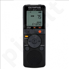 Olympus VN-765-E1 Digital Voice Recorder, 4GB internal memo, non PC model without battery
