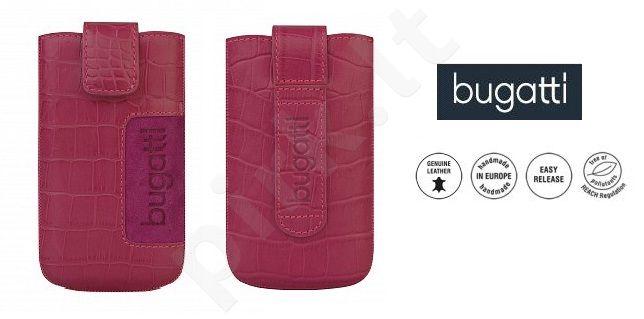 CROCO universalus dėklas M Bugatti rožinis