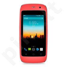 Telefonas POSH Micro X + europinis pakrovėjas rožinis