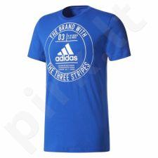 Marškinėliai adidas Badge Tee M CD9114