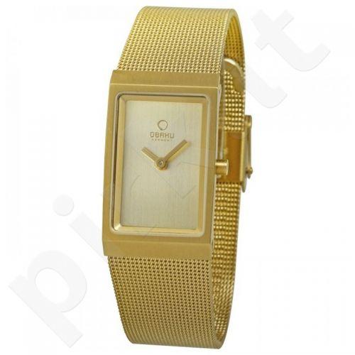Moteriškas laikrodis OBAKU OB V127LGGMG-N