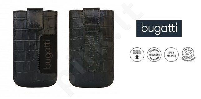 CROCO universalus dėklas M Bugatti juodas
