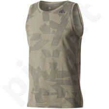 Marškinėliai treniruotėms adidas Elevated Lifter Tank M BR4213