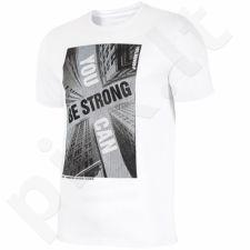 Marškinėliai 4f M H4L18-TSM022 biała