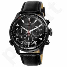 Vyriškas laikrodis BISSET World Time BSCE87BIBX05AX