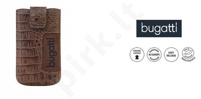 CROCO universalus dėklas M Bugatti šviesiai rudas