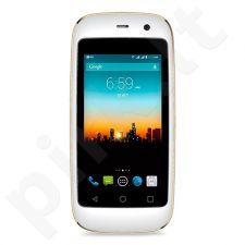 Telefonas POSH Micro X baltas