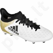 Futbolo bateliai Adidas  X 16.3 FG Jr AQ4339