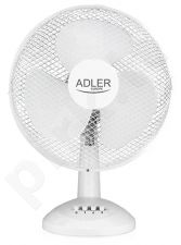 Adler AD 7304 Diameter 40 cm, White, Number of speeds 3, Oscillation, 55 W W
