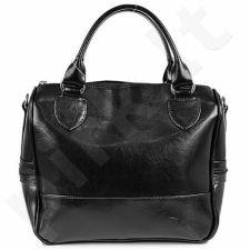 DAN-A T87 juoda rankinė iš natūralios odos , moteriška
