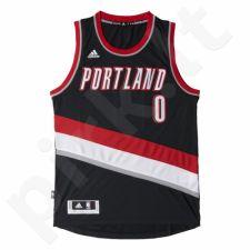 Marškinėliai krepšiniui Adidas Swingman Portland Trail Blazers Damian Lillard M A46238