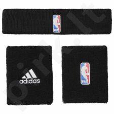 Komplektas riešinės + juosta ant galvos Adidas NBA G68791
