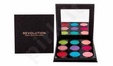 Makeup Revolution London Pressed Glitter, akių šešėliai moterims, 10,8g, (Abracadabra)