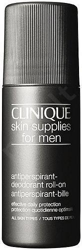 Clinique Skin Supplies For Men rutulinis dezodorantas vyrams, 75ml