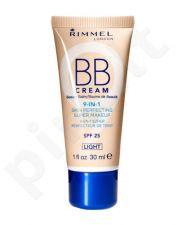 Rimmel London BB Cream, BB kremas moterims, 30ml, (Light)