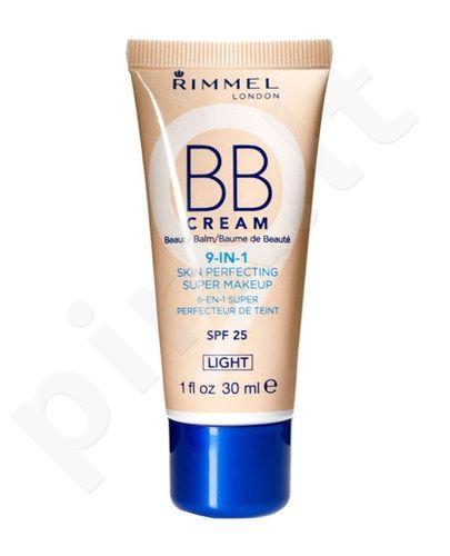 Rimmel London BB kremas 9in1 SPF25, 30ml, kosmetika moterims