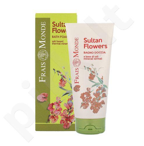 Frais Monde Sultan Flowers vonios putos, kosmetika moterims, 200ml