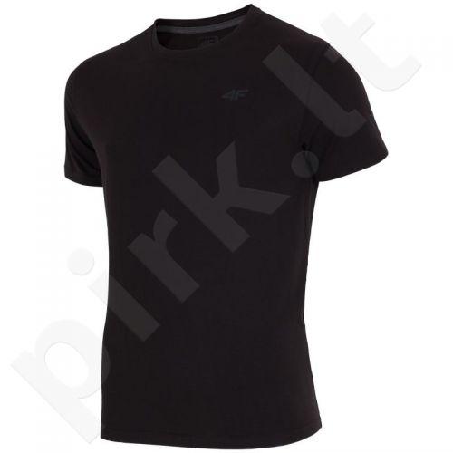 Marškinėliai 4F M H4Z17-TSMF001 juoda