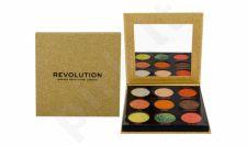 Makeup Revolution London Pressed Glitter, akių šešėliai moterims, 10,8g, (Midas Touch)
