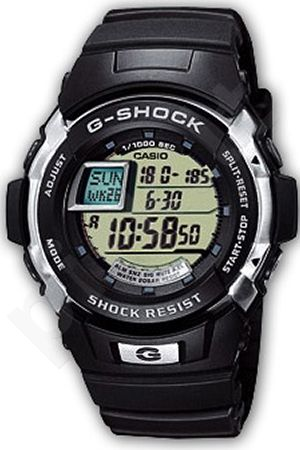 Laikrodis CASIO G-SHOCK   G-7700-1E  Autoilliminator. shock resistant. chronografas. 5  s. snooze. wr 200mt **ORIGINAL BOX**