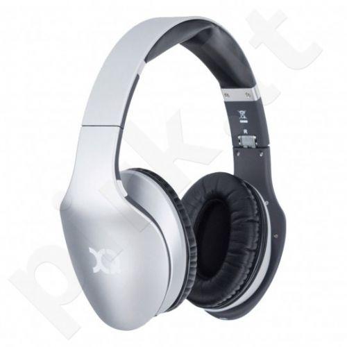 XQISIT LZ380 BT ausinės, sidabrinės mat.