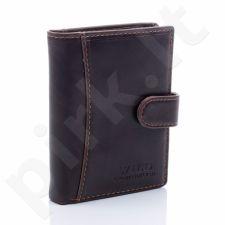 Elegantiška piniginė vyrams ruda GA51