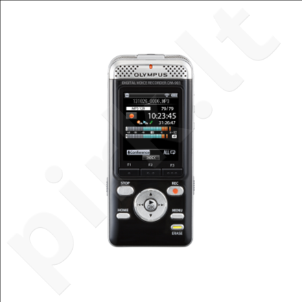 Olympus DM-901 Digital Voice Recorder, 4GB internal memory+Removable, Voice guidance