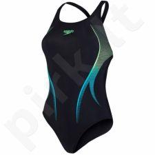 Maudymosi kostiumėlis Speedo Placement Powerback W 8-06187B129
