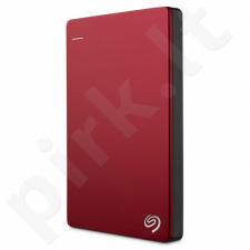 HDD Seagate Backup Plus Slim, 2.5'', 1TB, USB 3.0, red