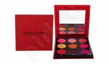 Makeup Revolution London Pressed Glitter, akių šešėliai moterims, 10,8g, (Hot Pursuit)