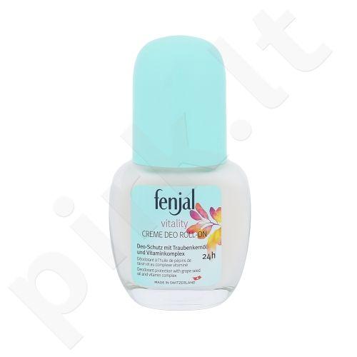 Fenjal Vitality kreminis dezodorantas 24H, kosmetika moterims, 50ml