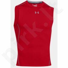Marškinėliai termoaktyvūs Under Armour HeatGear Compression Sleeveless 1257469-600