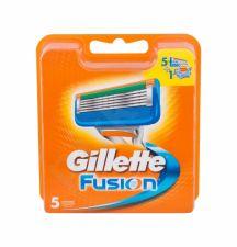 Gillette Fusion, keičiamos galvutės vyrams, 5pc