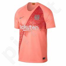 Marškinėliai futbolui Nike Breathe FC Barcelona Stadium M 918989-694