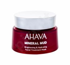 AHAVA Mineral Mud, Brightening & Hydrating, veido kaukė moterims, 50ml