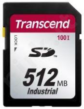 Atminties kortelė Transcend Industrial SD 512MB 17/13MBs