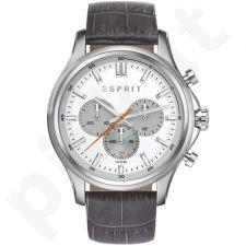 Esprit ES108251001 Mathias Grey vyriškas laikrodis-chronometras