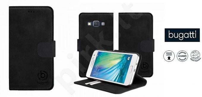 Samsung Galaxy A5 atverčiamas dėklas MADRID Bugatti juodas