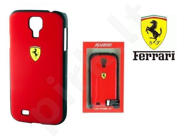 Samsung Galaxy S4 dėklas Ferrari raudonas