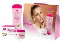 Dermacol Almond Oil, rinkinys kūno losjonas moterims, (kūno losjonas 250 ml + Daily Facial Care Natural 50 ml)