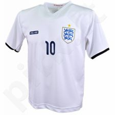 Marškinėliai futbolui Reda Anglia Rooney balta