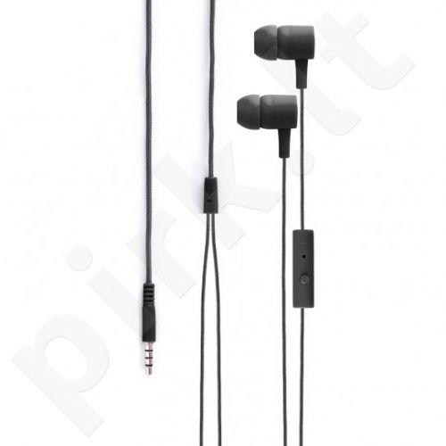 XQISIT iE H20 įstatomos ausinės, juodos