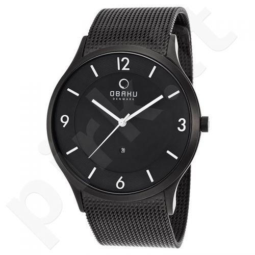 Vyriškas laikrodis OBAKU OB V132XBBMB-N