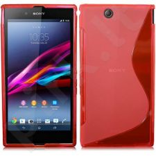 Sony Xperia Z Ultra dėklas SILICON Forever raudonas