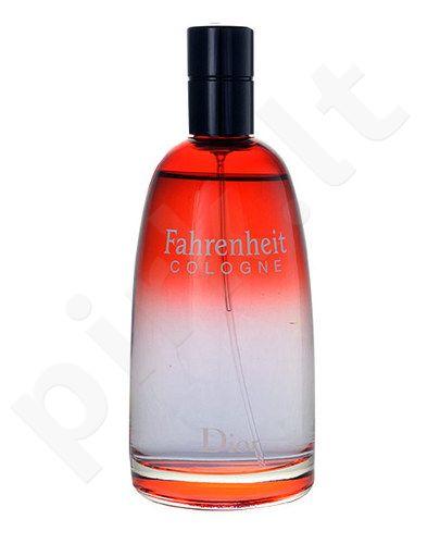 Christian Dior Fahrenheit Cologne, odekolonas vyrams, 125ml, (testeris)