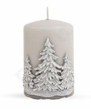 Žvakė Žieminė Medis Apvali