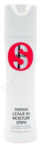 Nenuplaunamas drėkinamasis balzamas-purškiklis Tigi S Factor Papaya Moisture Spray, 250ml
